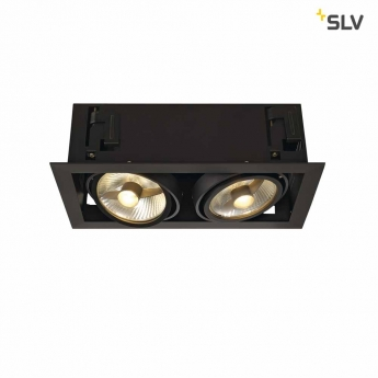 KADUX 2 ES111 Downlight  schwarz