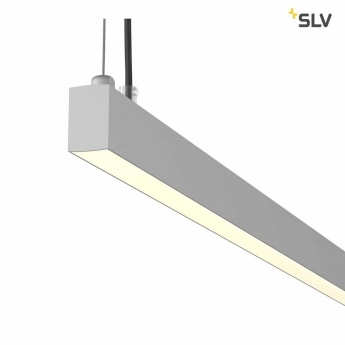 AROSA 2m, TRIAC PD, LED Indoor Pendelleuchte, Up/Down 3000K alu