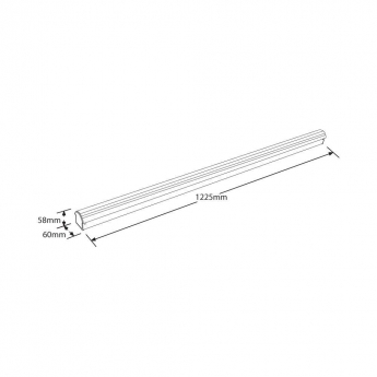 EnPac LED HighPower Leiste 1200mm 40W Standard