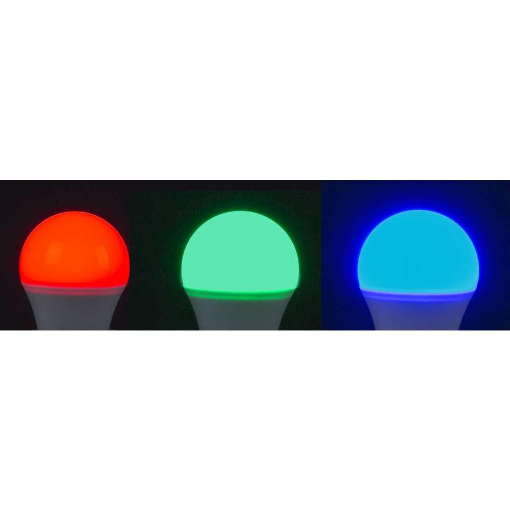 LED RGBW Leuchtmittel G45, 4W, 300lm, inkl. Fernmedienung, für Mundan 20cm