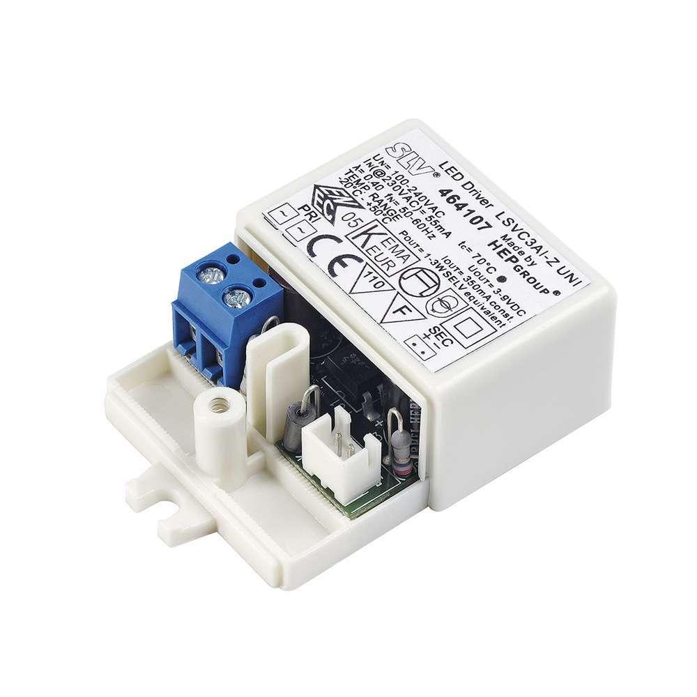 LED Treiber 3W, 350mA, Minibuchse